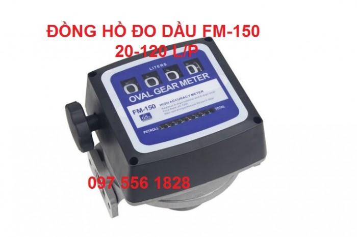 ĐỒNG HỒ ĐO DẦU FM-1500