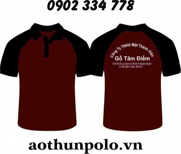 Nhận MAY – IN – THÊU (hỗ trợ tư vấn - thiết kế logo theo nhu cầu): áo thun vải coton, vải thun cá sấu..2