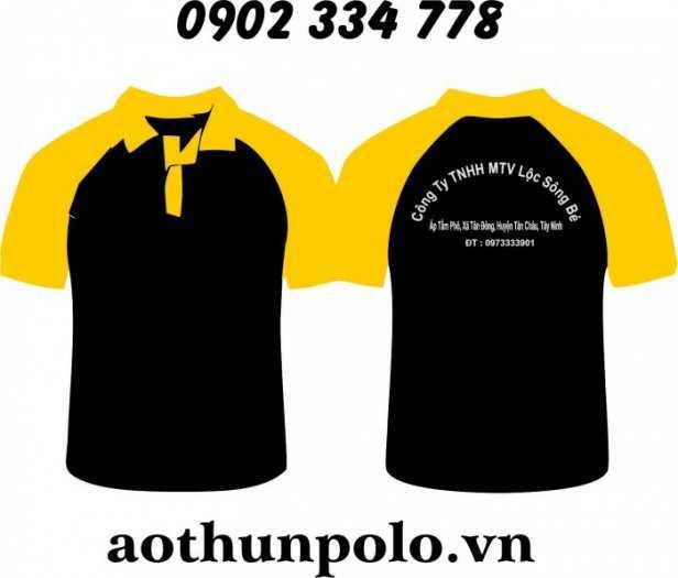 Nhận MAY – IN – THÊU (hỗ trợ tư vấn - thiết kế logo theo nhu cầu): áo thun vải coton, vải thun cá sấu..3