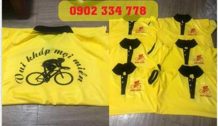 Chuyên may áo thun cho clb xe đạp1