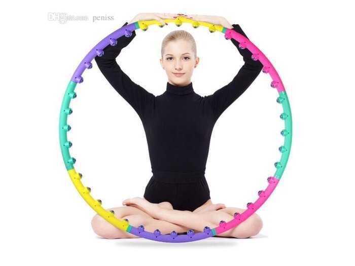 Vòng lắc eo massager hula hoop