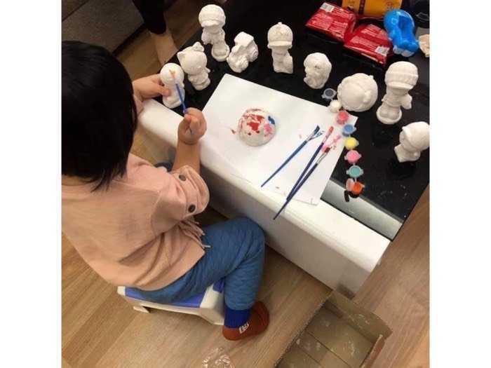 Bộ đồ chơi tô tượng cho bé