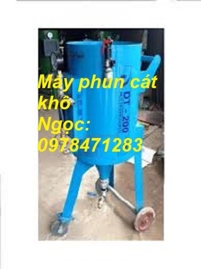 Máy phun cát khô- ướt DT100, DT200, DT250, DT300 giá rẻ toàn quốc0