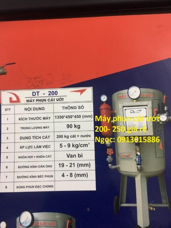 Máy phun cát khô- ướt DT100, DT200, DT250, DT300 giá rẻ toàn quốc3