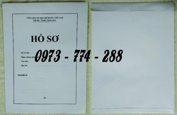 Bì hồ sơ viên chức theo tt0716
