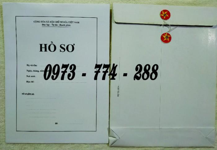 Bì hồ sơ viên chức theo tt0717