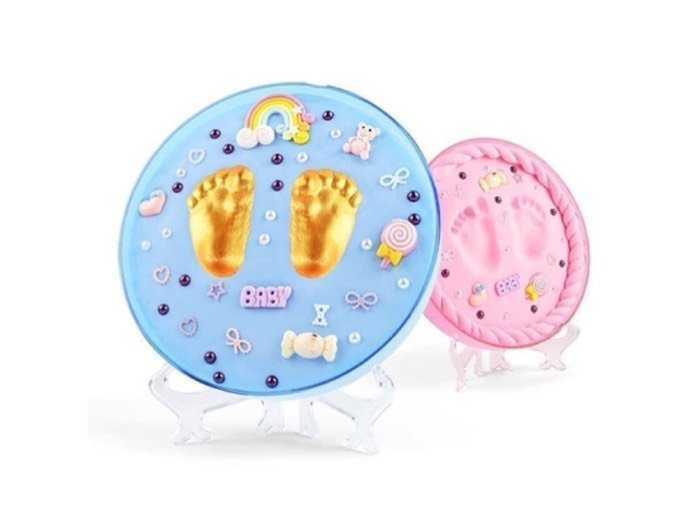Bộ đồ chơi in dấu vân tay, vân chân cho bé