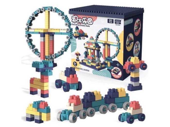 Bộ đồ chơi lego 520 chi tiết trẻ em