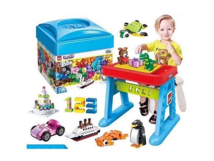Bộ đồ chơi lego hộp vuông trẻ em
