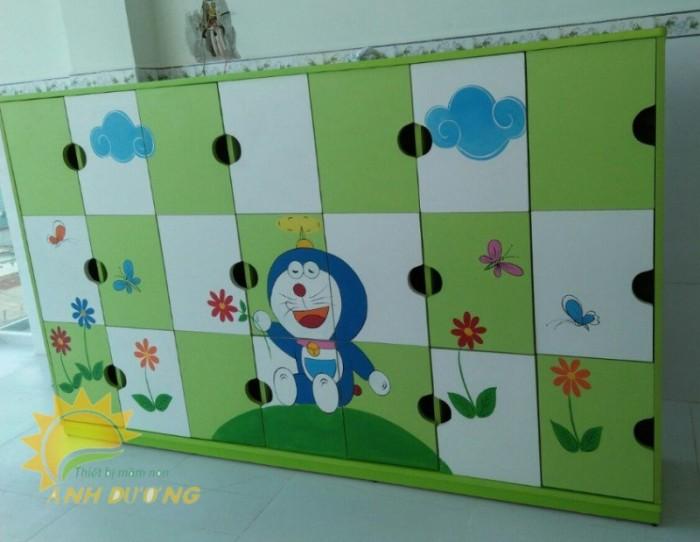 Cung cấp tủ mầm non cao cấp cho trẻ em mầm non giá cực SỐC2