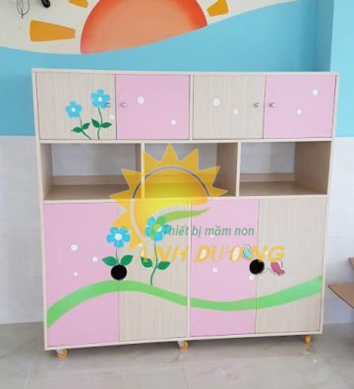 Cung cấp tủ mầm non cao cấp cho trẻ em mầm non giá cực SỐC8