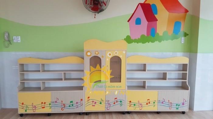 Cung cấp tủ mầm non cao cấp cho trẻ em mầm non giá cực SỐC7