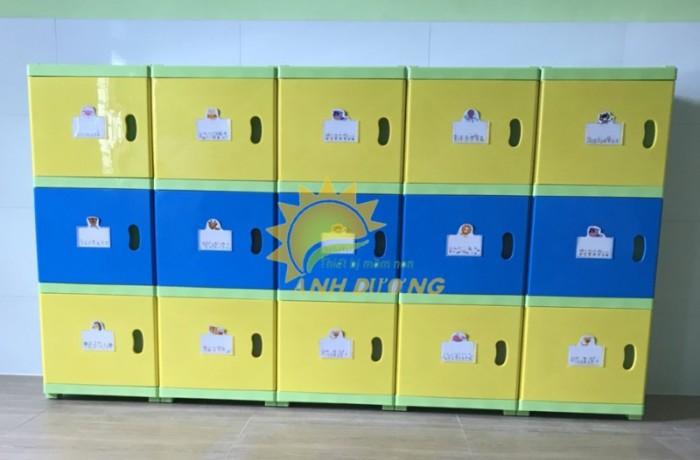 Cung cấp tủ mầm non cao cấp cho trẻ em mầm non giá cực SỐC14