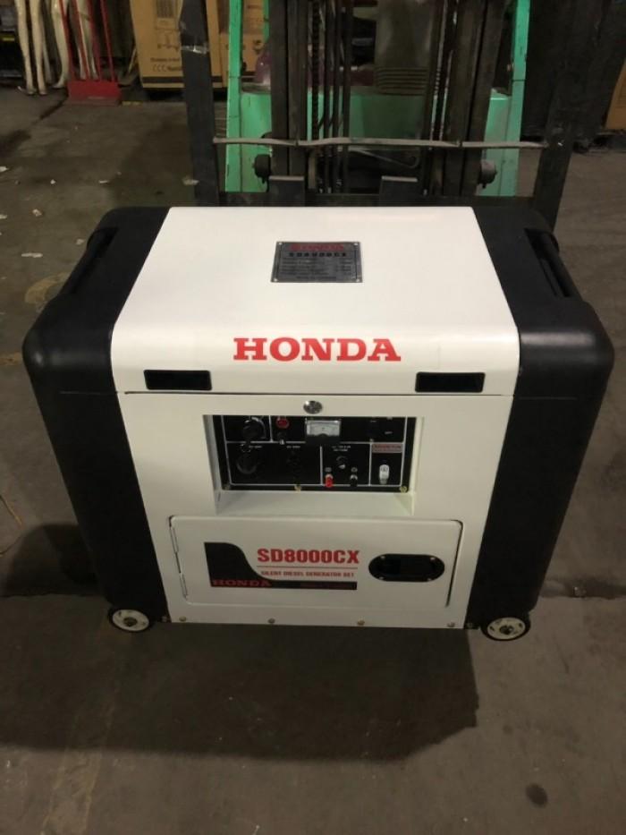 Nơi bán máy phát điện chạy dầu 6kw honda SD8000EC0