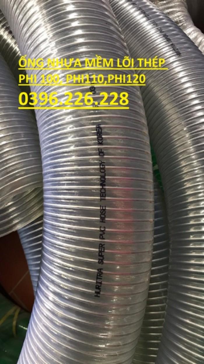 Ống nhựa mềm lõi thép UNIGAWA phi 120 giao hàng toàn quốc3