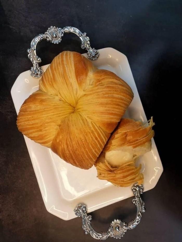 BÁNH MÌ CUỘN LEN : 120k/ổ 400gr  (nhân sữa chua)   Bánh mềm, kéo sớ, rất thơm cùng nhân phomai sữa chua beo béo 4