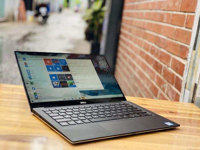 Laptop Dell XPS 13 9360, I7 7500U 8G SSD256 QHD 3K TOUCH Đẹp Zin 100% Giá rẻ0