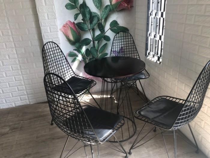 Bộ bàn ghế cafe giá tốt tại xưởng sản xuất..5