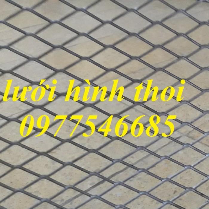Lưới thép hình thoi giá rẻ, lưới thép dập giãn, lưới mắt cáo