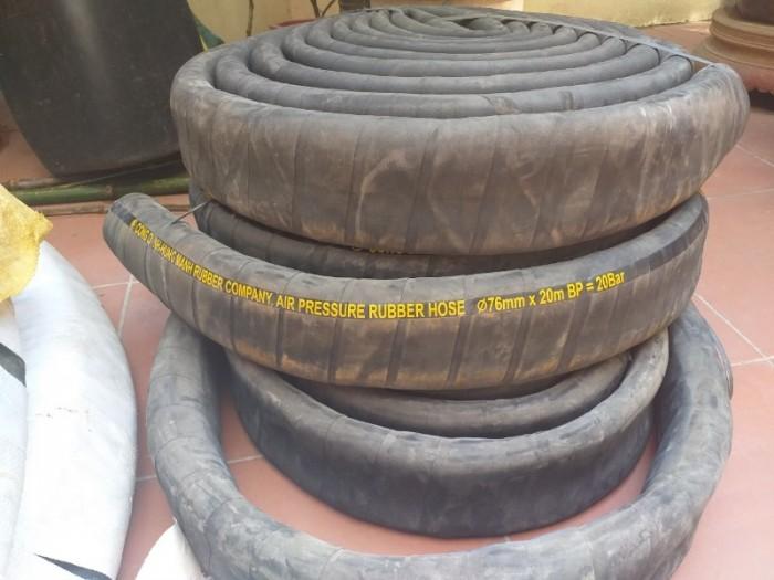 Ống cao su bố vải 3 lớp ,5 lớp ,7 lớp hàng sẵn kho12