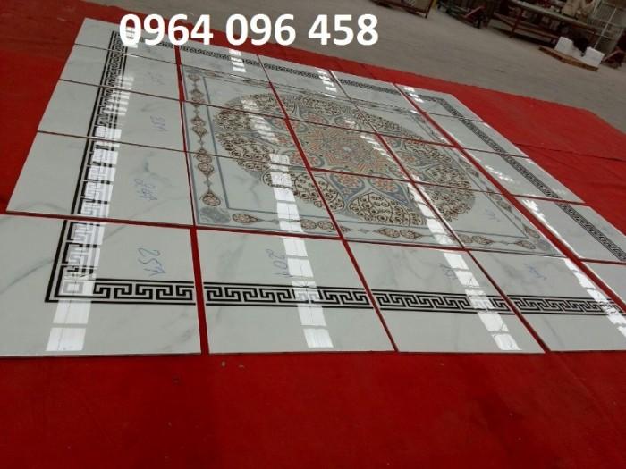 Gạch thảm 3d phòng khách khổ lớn - 45DF0