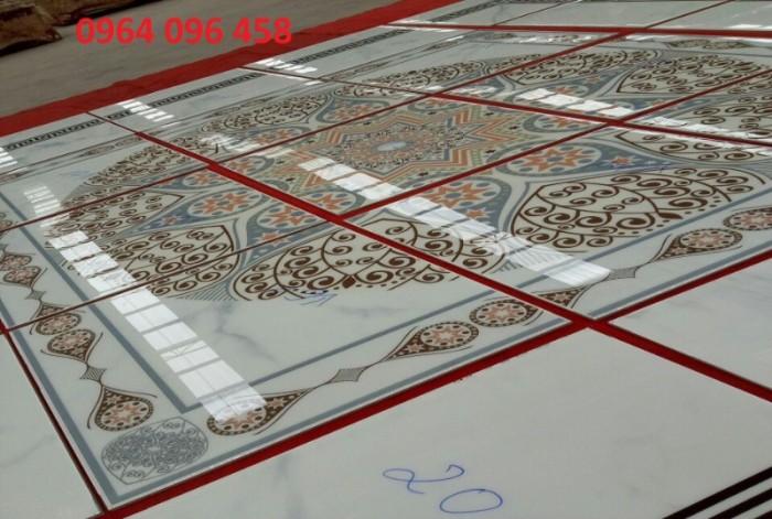 Gạch thảm 3d phòng khách khổ lớn - 45DF2