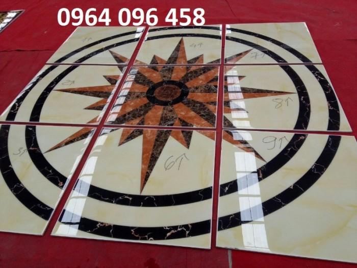 Gạch thảm 3d phòng khách khổ lớn - 45DF5
