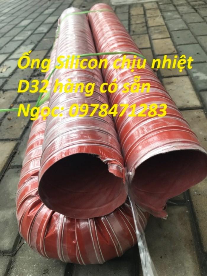 Ống silicon chịu nhiệt phi 51, phi 63, phi 76, phi 90, phi 100 dẫn khí nóng0