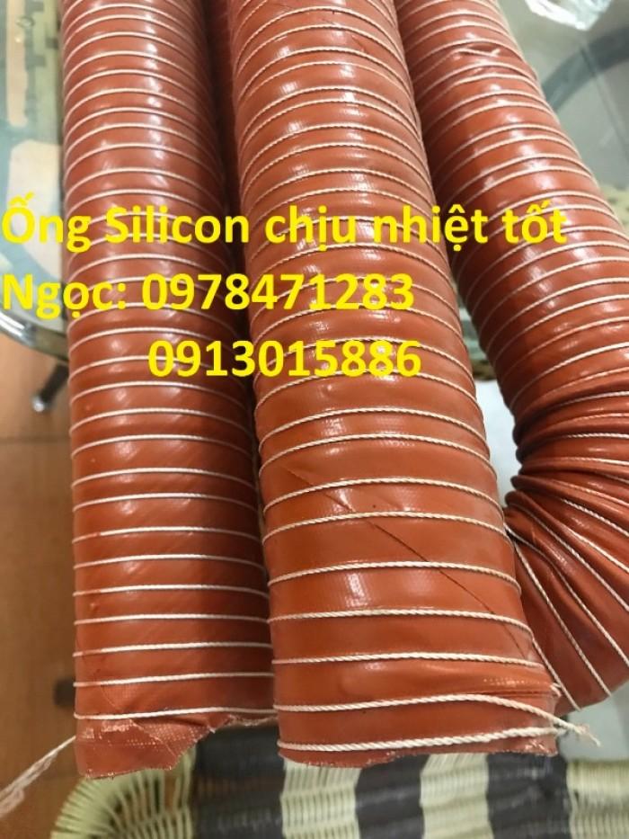 Ống silicon chịu nhiệt phi 51, phi 63, phi 76, phi 90, phi 100 dẫn khí nóng3