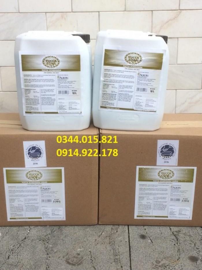 Yucca bột, yucca nước, yucca nguyên liệu 100%, hàng Baja Agroin Mexico2