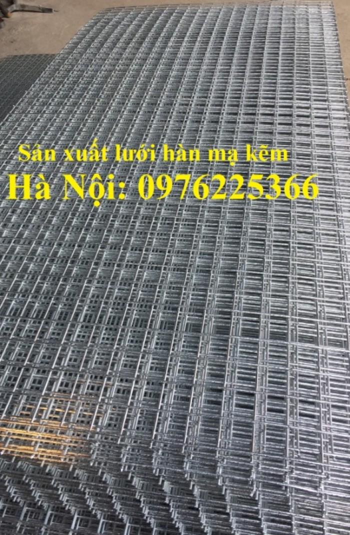 Tấm lưới thép hàn mạ kẽm D3, D4 sản xuất theo yêu cầu2