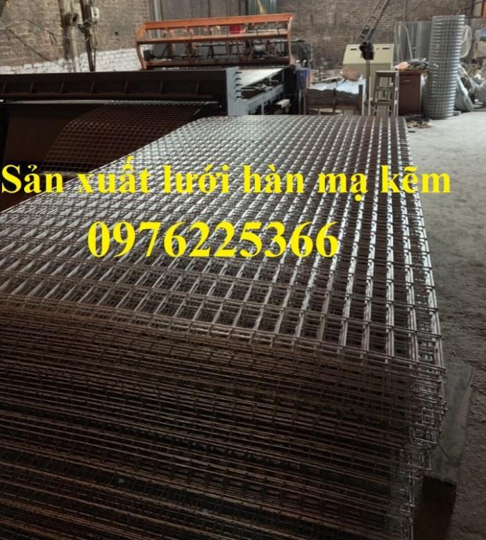 Tấm lưới thép hàn mạ kẽm D3, D4 sản xuất theo yêu cầu3