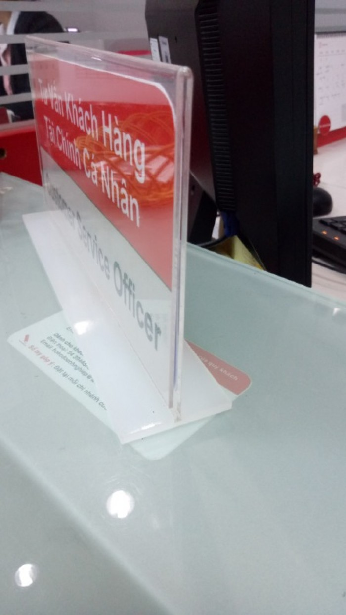 Chuyên cung cấp thùng phiếu mica, menu mica, kệ mica các loại giá rẻ24