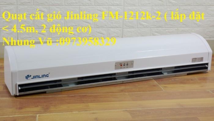 Quạt cắt gió Jinling FM-1212K-27