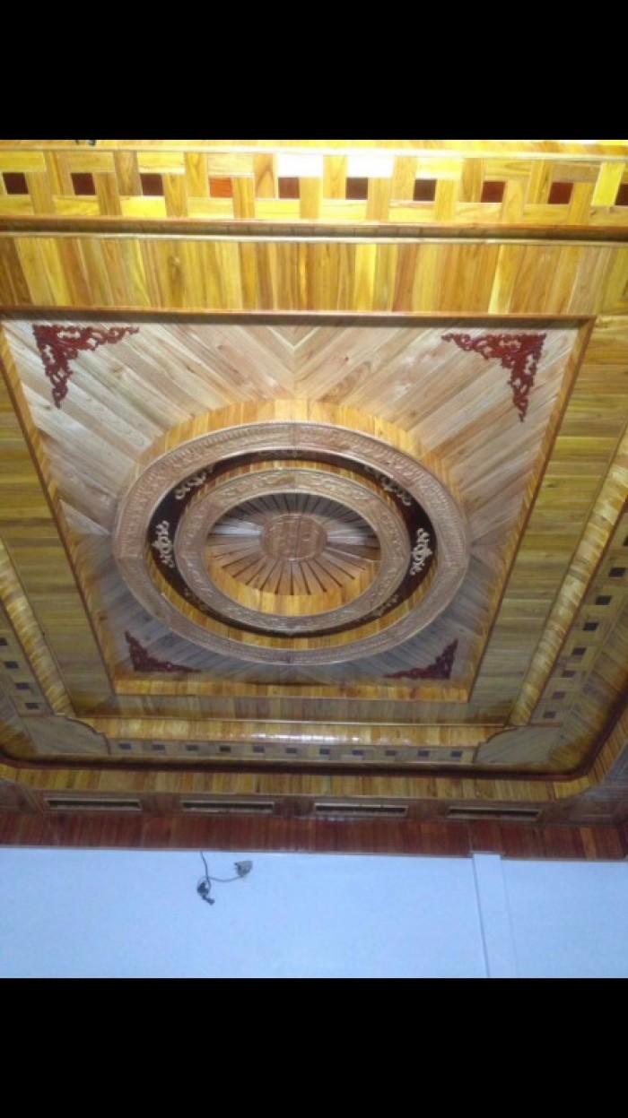 Ốp trần gỗ2