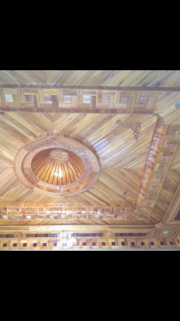 Ốp trần gỗ3