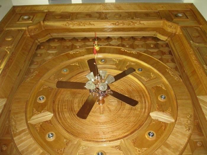 Ốp trần gỗ4