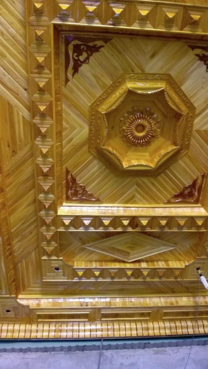 Ốp trần gỗ5