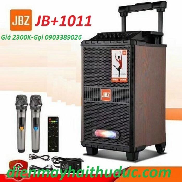 Loa kéo di động JBZ JB+1011 Loa được trang bị với bass 25cm, thiết kế sang trọng và khỏe khoắn1