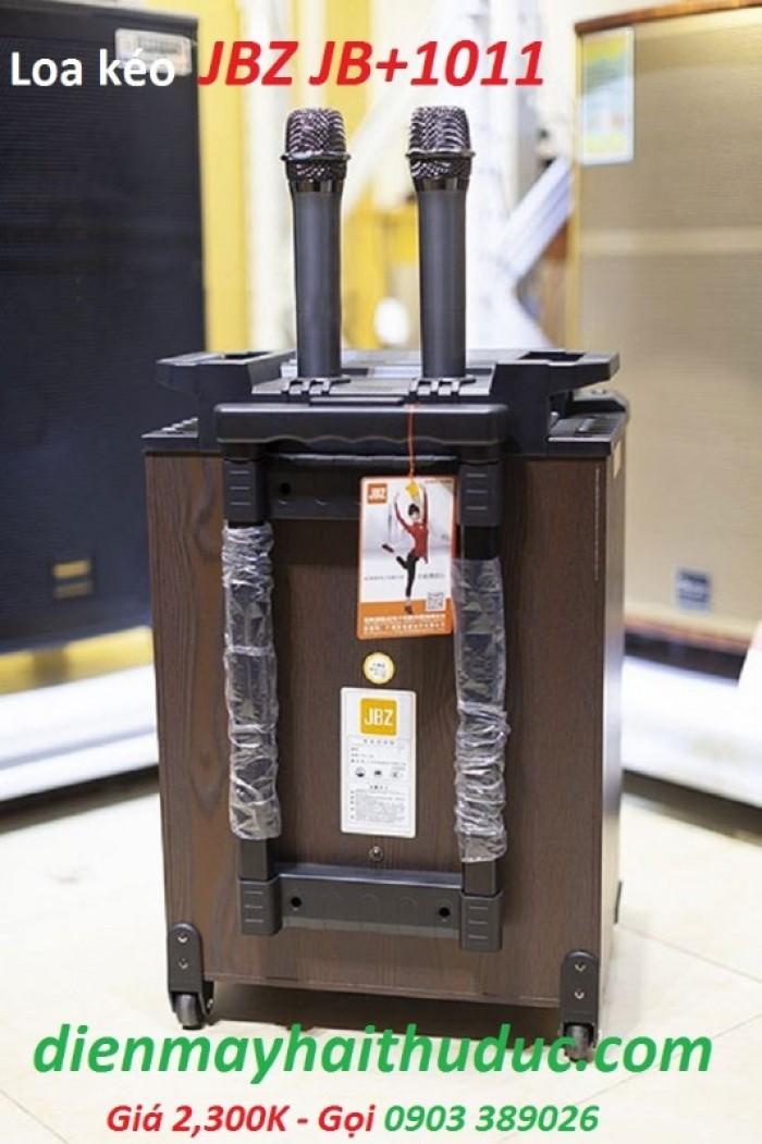 Loa kéo di động JBZ JB+1011 Phụ kiện gồm có: 2 Micro không dây kim loại cao cấp, sạc, dây AV, sách hướng dẫn, Remote4