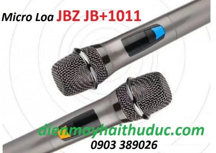 Loa kéo di động JBZ JB+1011 với 2 micro không dây đi kèm, micro có độ hút âm thanh tốt,3