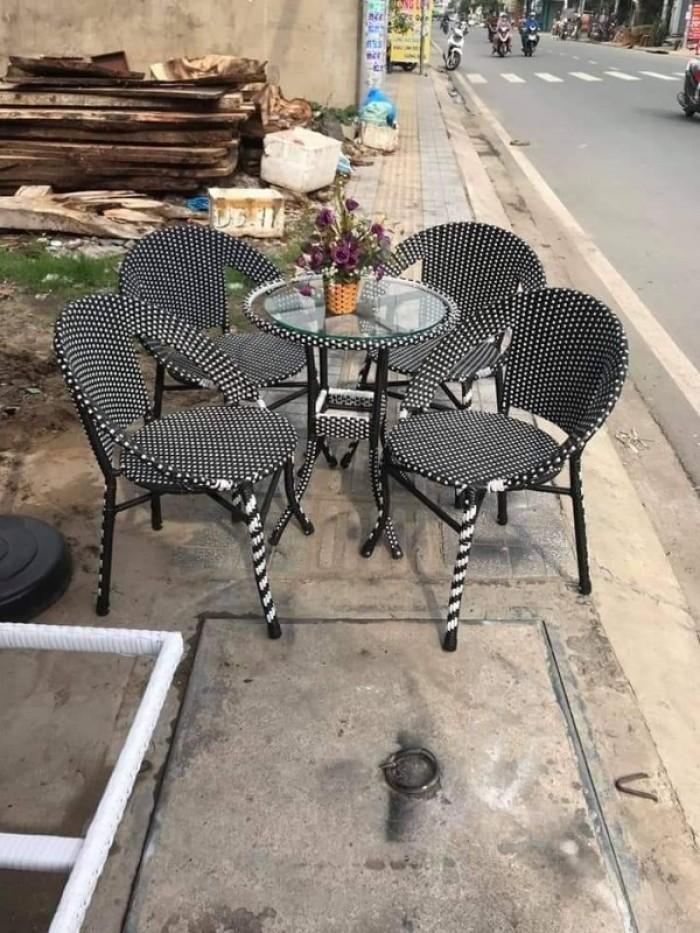Ghế sắt sơn tính điện giá tại xưởng sản xuất (Bàn Ghế cafe đẹp Quang Đại)6