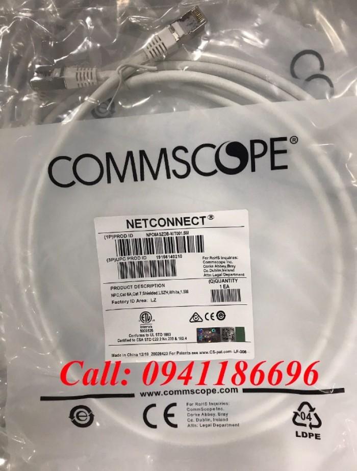 Dây nhảy patch cord cat6A - Cat7 dài 1.5m commscope0
