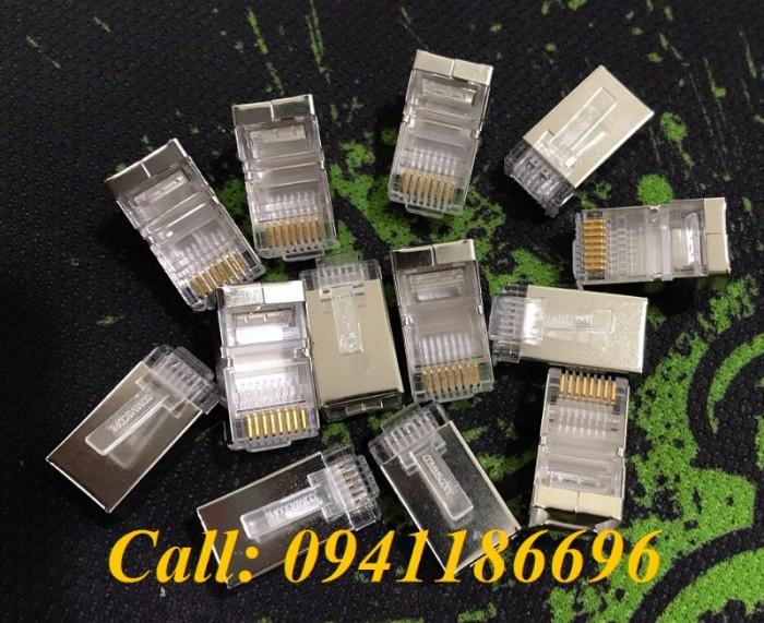Hạt mạng Sắt CommScope Cat5/Cat6 FTP chống nhiễu mã 6-569550-35