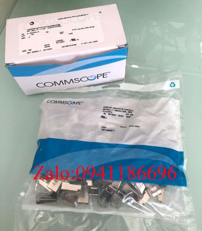 Hạt mạng Sắt CommScope Cat5/Cat6 FTP chống nhiễu mã 6-569550-36