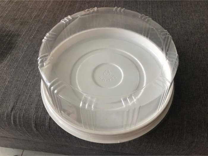 45c Hộp đựng bánh 20cm đế trắng cứng cáp1