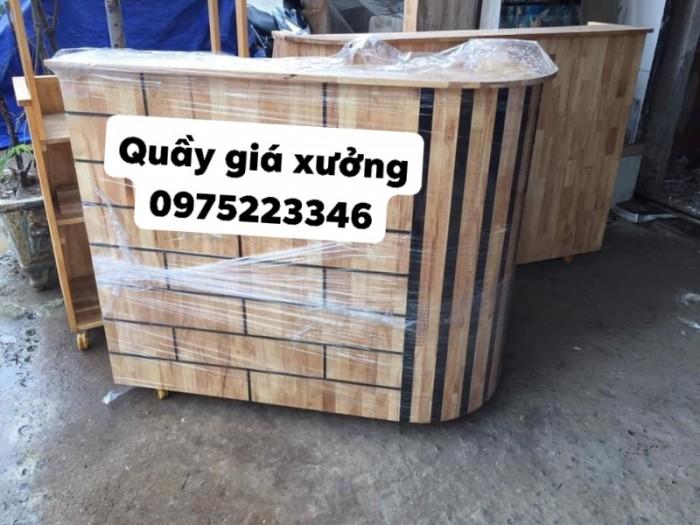 Quầy gỗ tự nhiên bền và rẻ giá tại xưởng..2