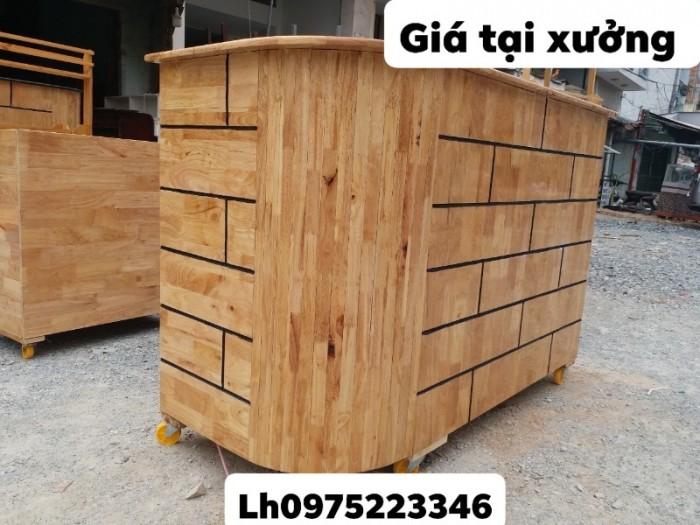 Quầy gỗ tự nhiên bền và rẻ giá tại xưởng..3