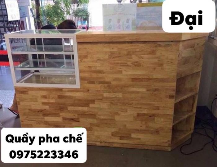 Quầy gỗ tự nhiên bền và rẻ giá tại xưởng..5