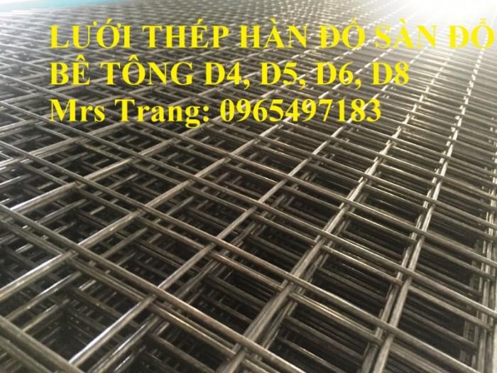 Lưới thép hàn D4, D5, D6, D8 đổ sàn bê tông, đổ mái giá tốt nhất tại Hà Nội1